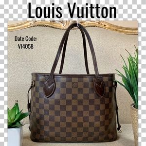 Louis Vuitton tote bag neverfull damier PM HANDBAG